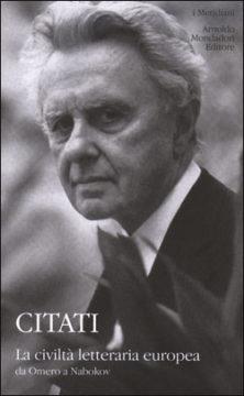 La civiltà letteraria europea