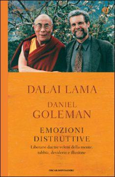 Libro Emozioni distruttive Dalai Lama, Daniel Goleman