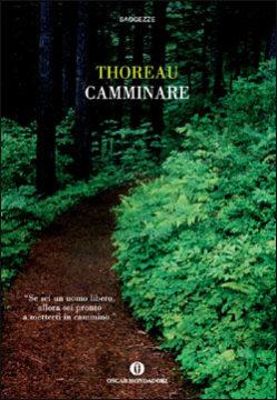 Libro Camminare Henry David Thoreau