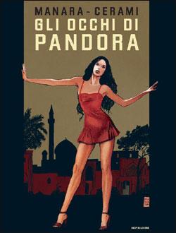 Libro Gli occhi di Pandora Milo Manara, Vincenzo Cerami