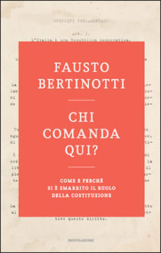 Libro Chi comanda qui? Fausto Bertinotti
