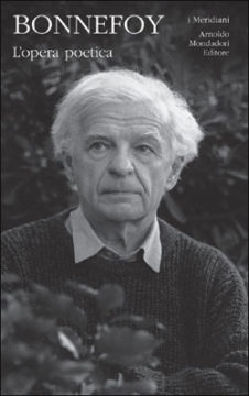 Libro L'opera poetica Yves Bonnefoy