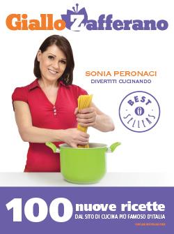 Libro Divertiti cucinando Sonia Peronaci