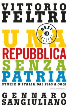 Libro Una repubblica senza patria Vittorio Feltri, Gennaro Sangiuliano