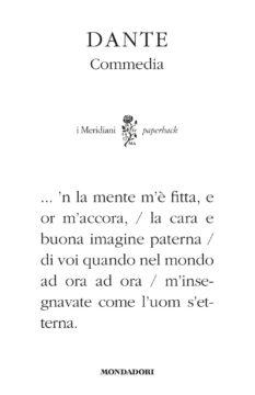 La Divina Commedia (Meridiani Paperback)