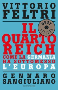Libro Il Quarto Reich Vittorio Feltri, Gennaro Sangiuliano