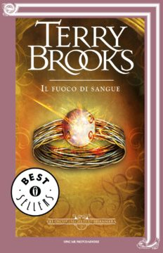 Libro Il fuoco di sangue Terry Brooks