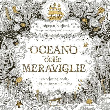 Libro Oceano delle meraviglie Johanna Basford