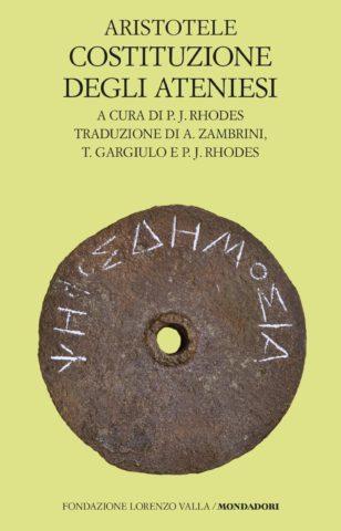 Libro Costituzione degli ateniesi Aristotele