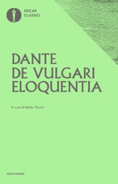 Libro De vulgari eloquentia Dante Alighieri