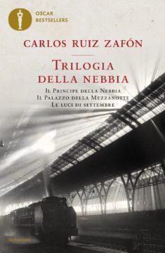 Libro Trilogia della nebbia Carlos Ruiz Zafón