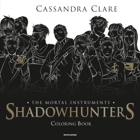 Libro Shadowhunters – The Mortal Instruments Coloring Book Cassandra Clare