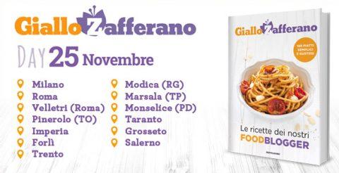 Il 25 Novembre è Il Giallo Zafferano Day Libri Mondadori