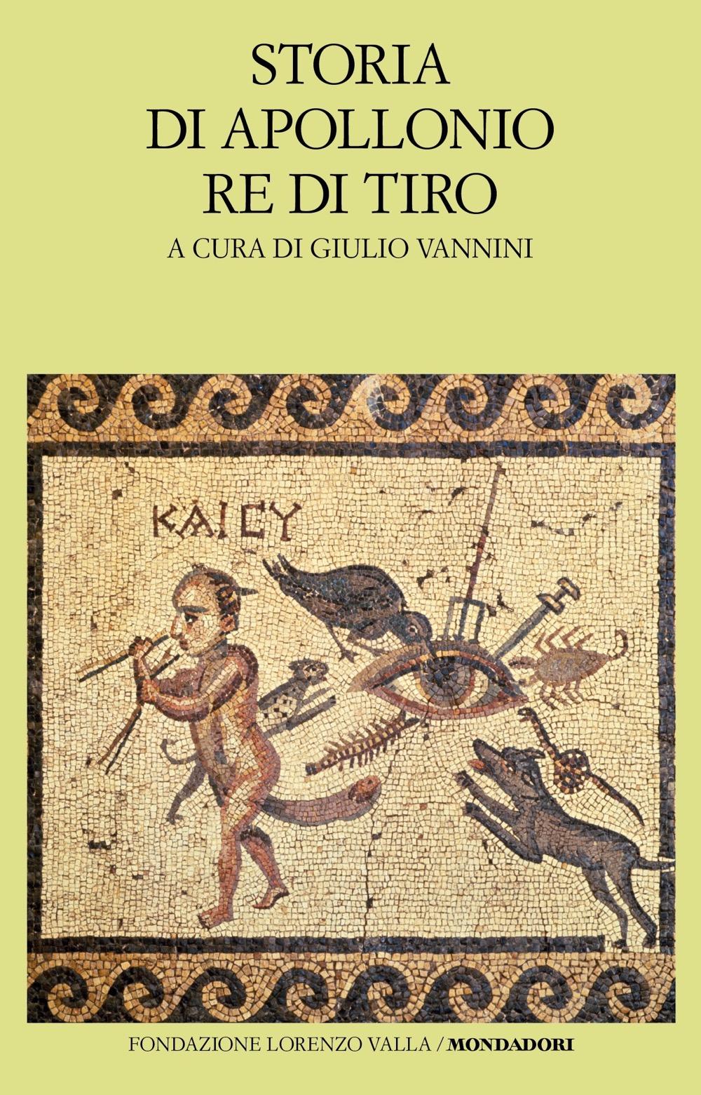 """ANONIMO – """"Storia di Apollonio re di Tiro"""""""