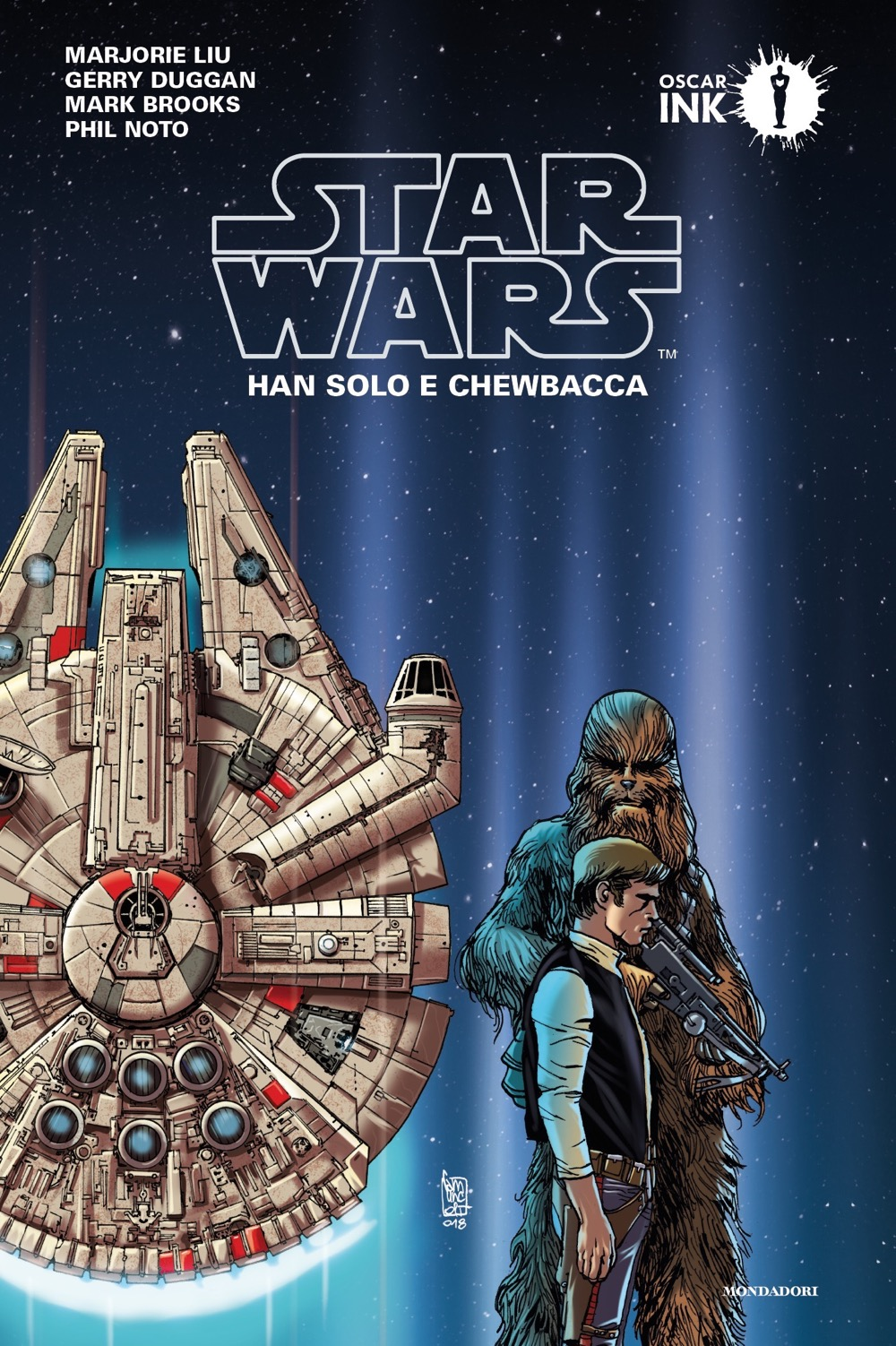 "MARJORIE LIU, GERRY DUGGAN, MARK BROOKS, PHIL NOTO – ""Star Wars: Han Solo e Chewbacca;"""