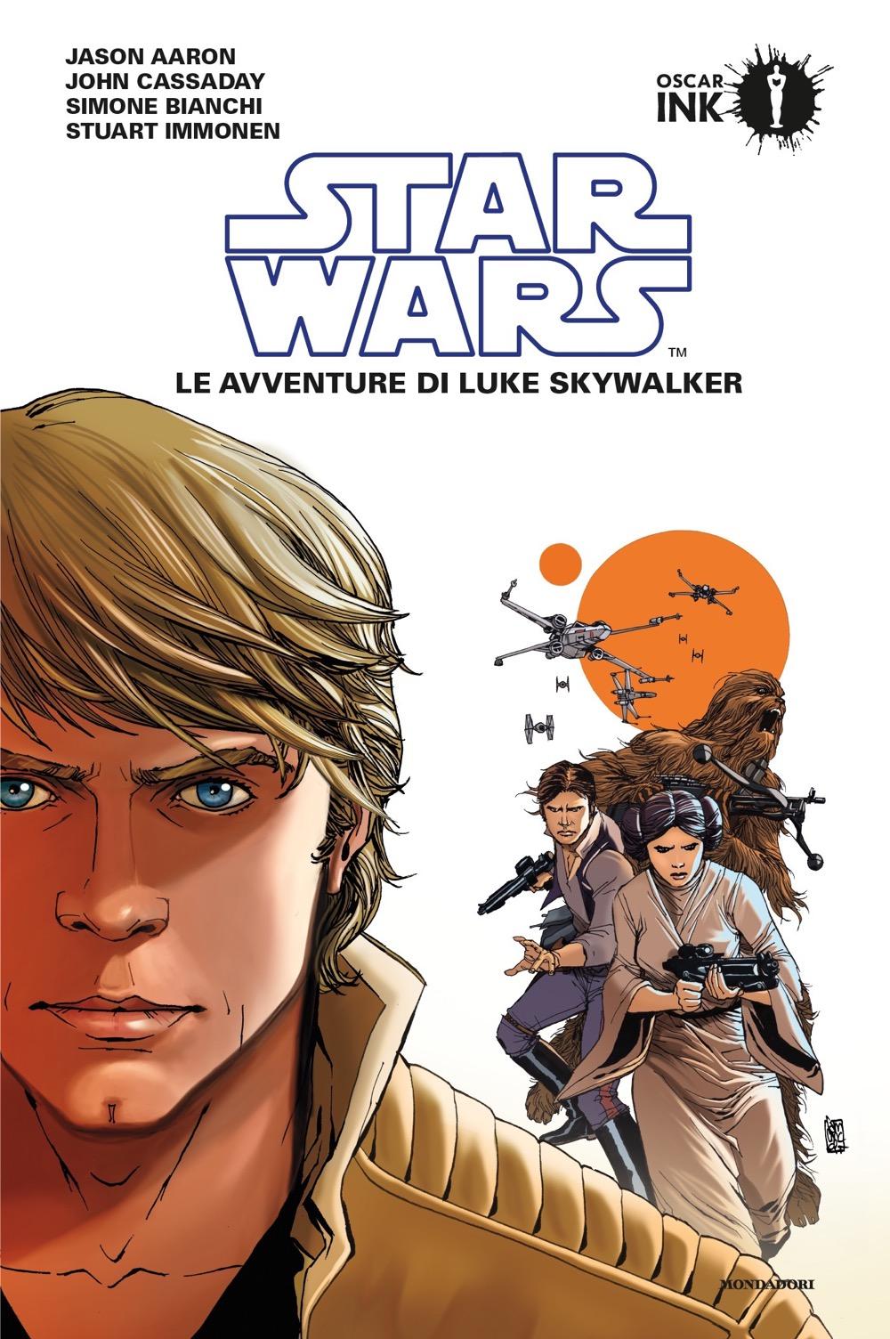 "JASON AARON, JOHN CASSADAY, SIMONE BIANCHI, STUART IMMONEN – ""Star Wars: Le avventure di Luke Skywalker vol. 1;"""