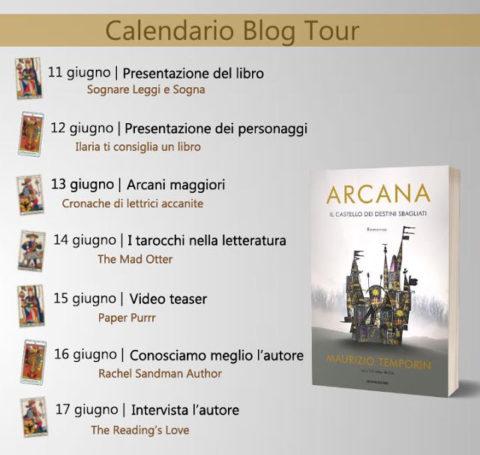 Arcana blog tour