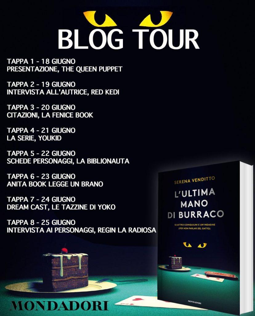 Serena Venditto blog tour