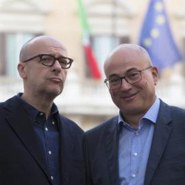 Evento Aldo Cazzullo, Fabrizio Roncone a Pordenone